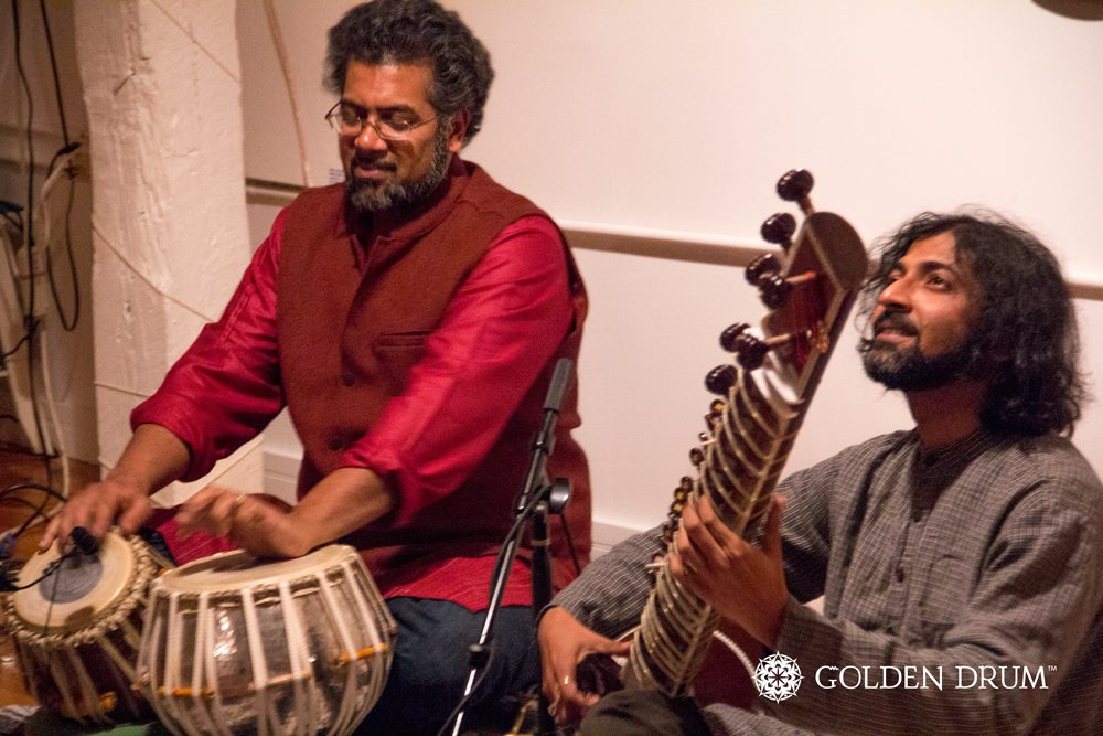Golden Drum Feb 2013 with Sameer Gupta